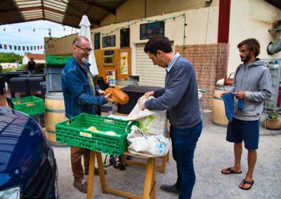Distribution à Capbreton